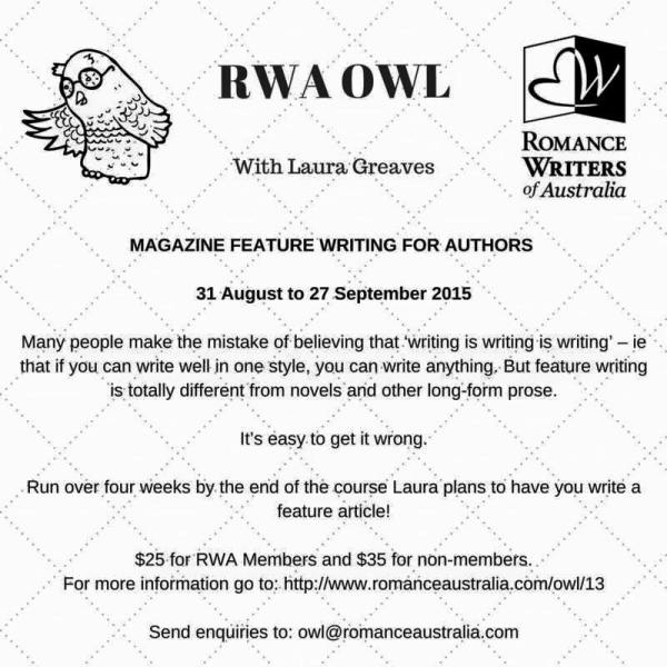 Laura Greaves online course in magazine writing